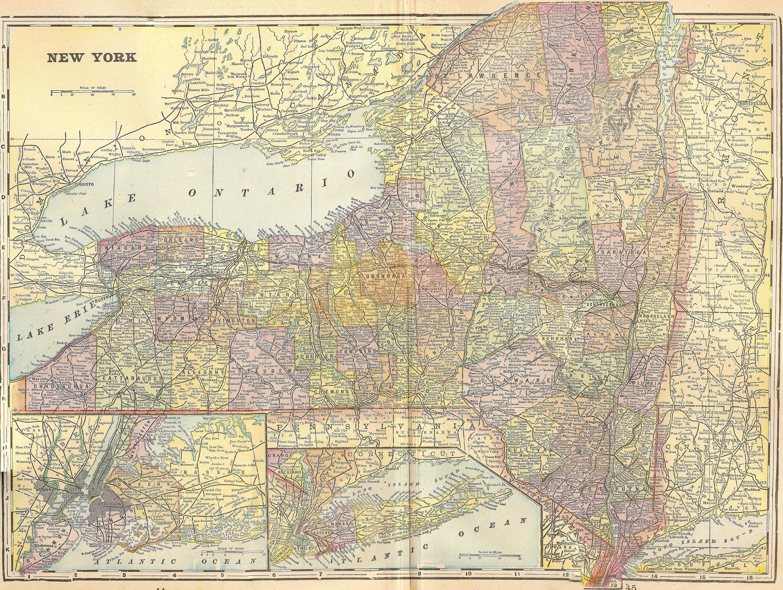 New York Geography C Teachers - New york state maps